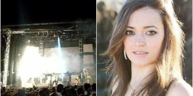 Огномет уби пејачка на бина