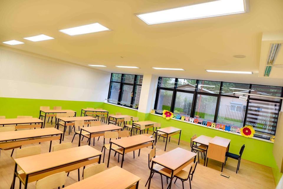 Богдановиќ: Просторот во новото училиште е 100 проценти за јавното образование