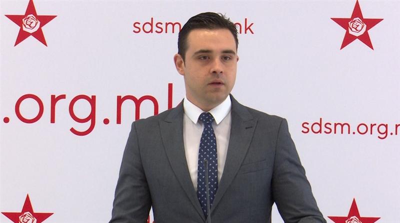 Костадинов: Барањето за анкетна е параван и не го прифаќаме