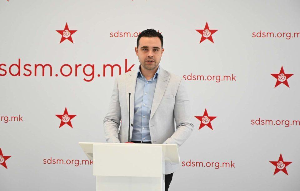 Костадинов: ВМРО-ДПМНЕ сѐ повеќе наликува на грчка Златна зора