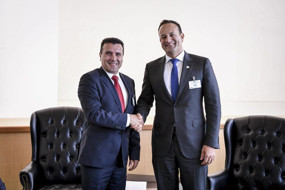 Заев-Варадкар: Почнувањето преговори со ЕУ ќе биде придонес за Унијата