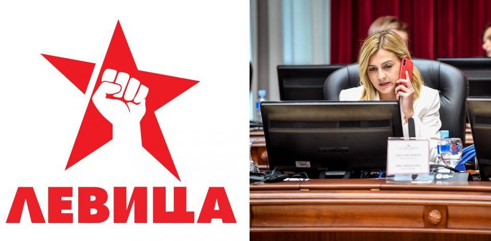 Левица: Сомнителен е и личниот интегритет на Нина Групер