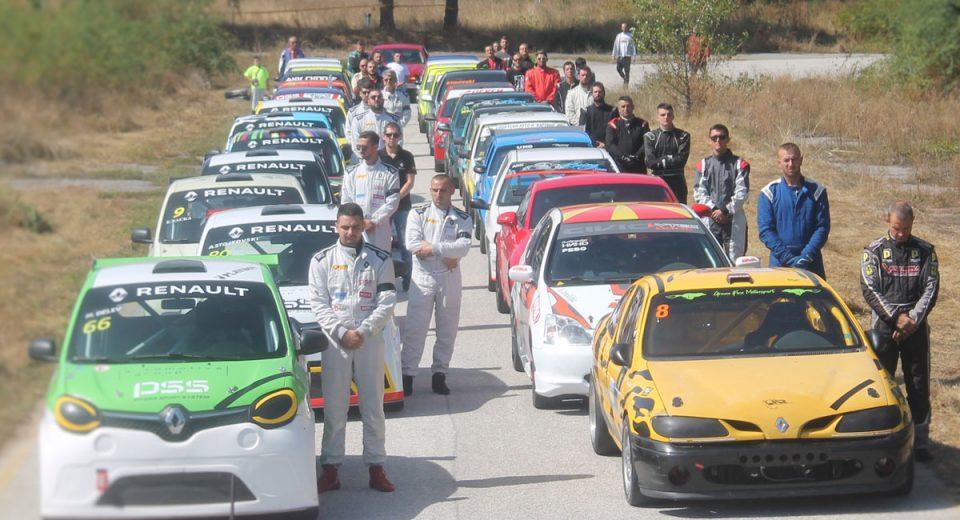 Погледнете како возачите му оддадоа почит на колегата кој почина среде трка во Кичево
