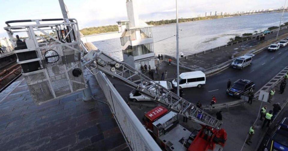 Уапсен мажот кој се закануваше дека ќе го разнесе мостот во Киев