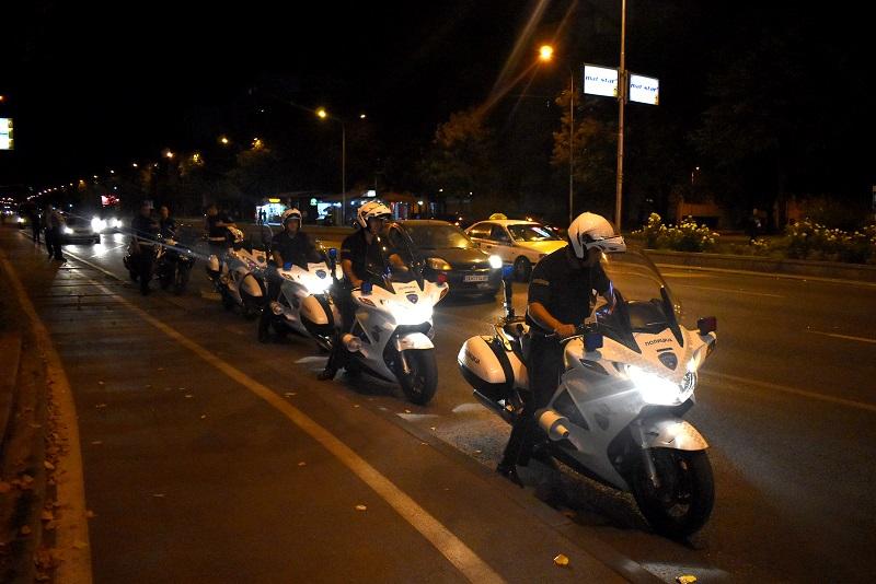 Полицајци на мотори во лов на диви моторџии – Партизанска татни