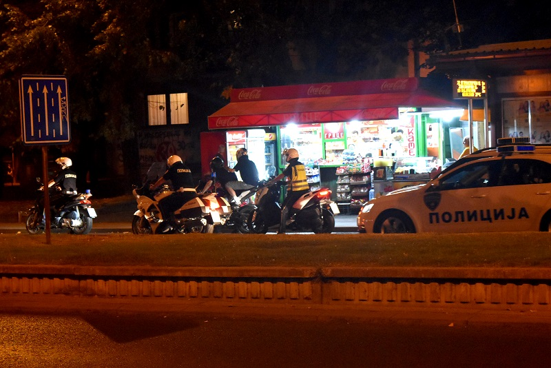 Полициска акција во Скопје, одземени 27 возачки дозволи