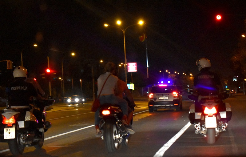Казни за 131 возач на мотоцикли