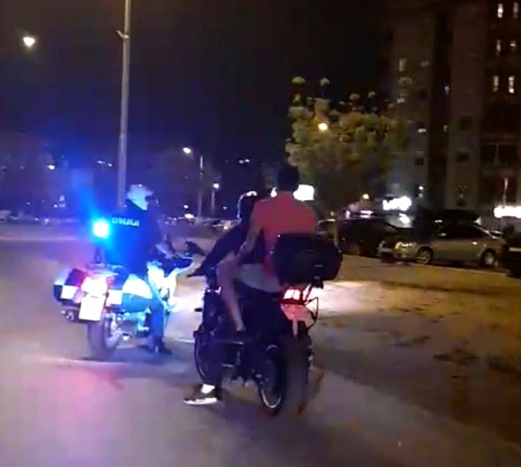 Вчеравечер санкционирани се 21 возач на мотоцикли
