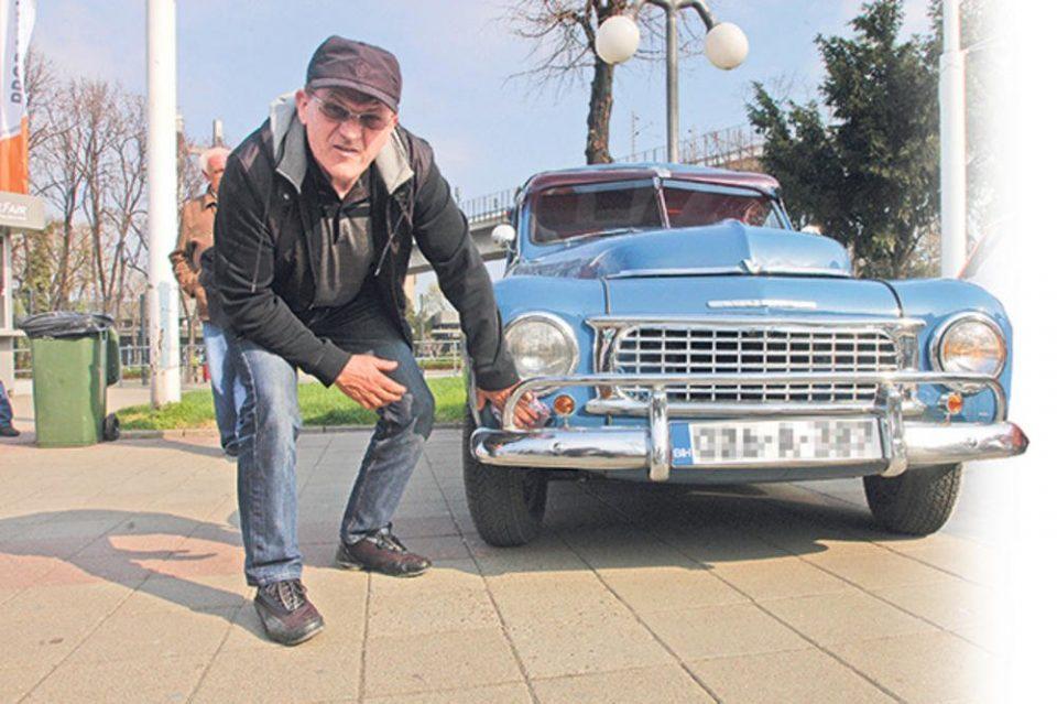 """Реставриран """"Пакардот"""" на Тито од 1948 година"""
