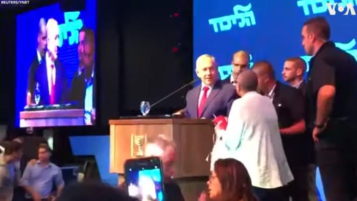 Ракетен напад во Израел, Нетанјаху евакуиран од митинг
