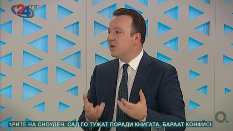 Николоски: Преговорите за Законот за ЈО се заглавени бидејќи Заев сака амнестија за себе
