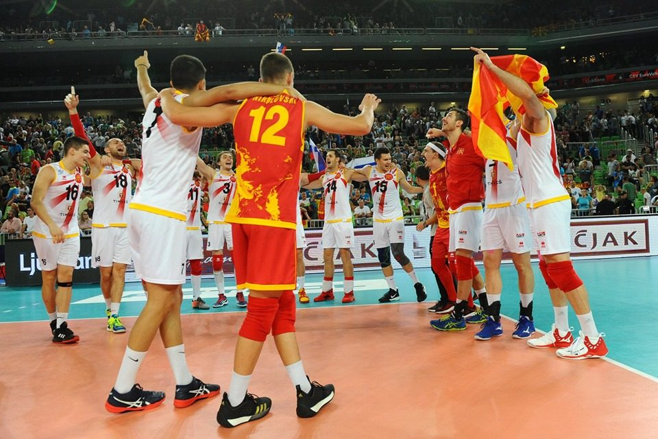 Македонскaтa одбојкарска репрезентација ќе игра во Златната европска лига