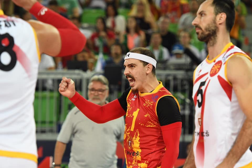 Словенците надиграни, Македонија има 2-0 во сетови