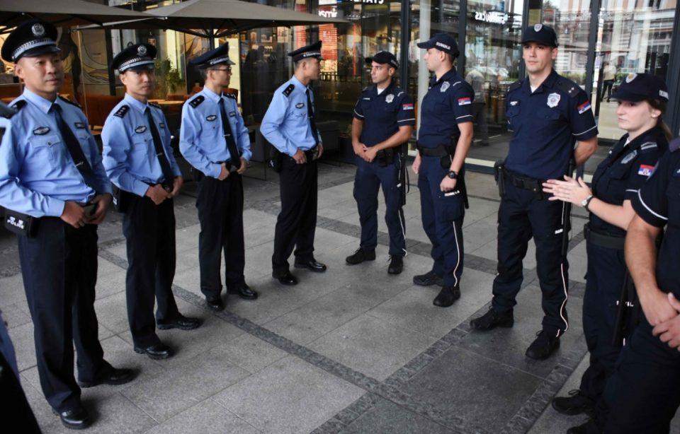 Кинески и српски полицајци заеднички ќе патролираат во Белград