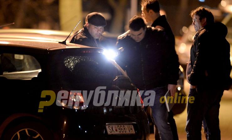 """Голема полициска акција во Карпош, се апсат напаѓачите кои пукаа во """"Александар Палас"""""""