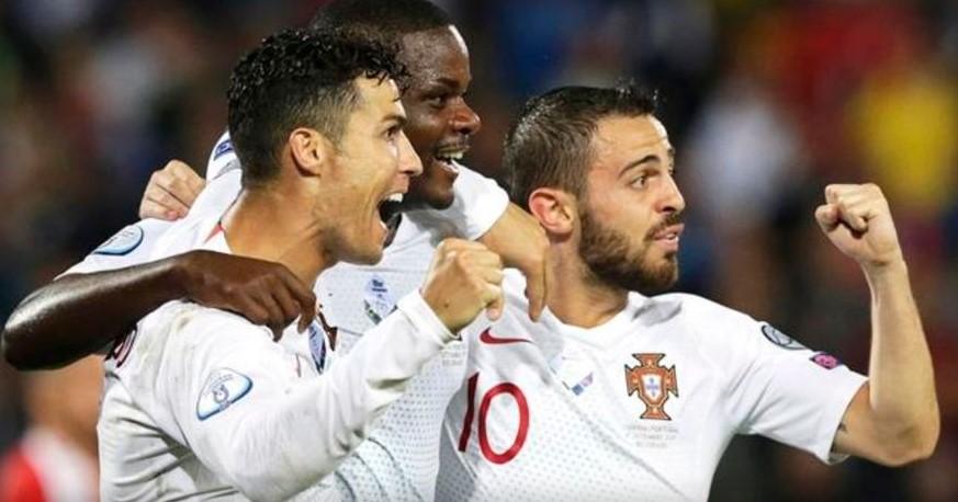Франција го наполни голот на Албанија, Португалија ја доби голеадата со Србија