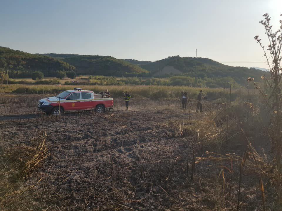 Изгаснат пожарот во скопското село Таор
