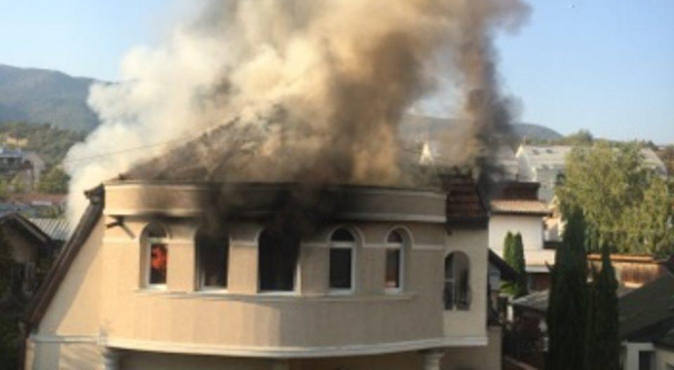 Куќата која гори во Тафталиџе