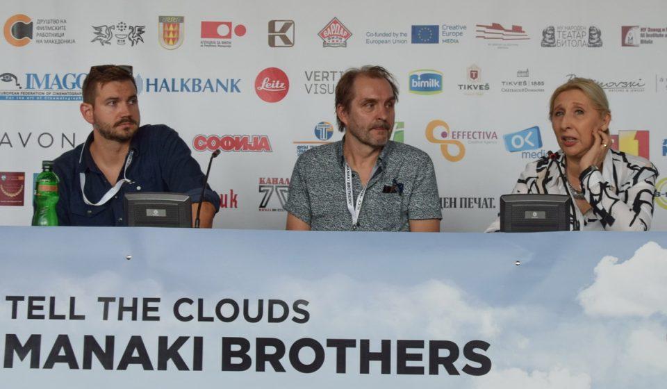 """Режисерот Арто Халонен и Јонас Пулканен, кинематографер на документарниот филм """"Назад кон светлина"""" гости на """"Браќа Манаки"""""""