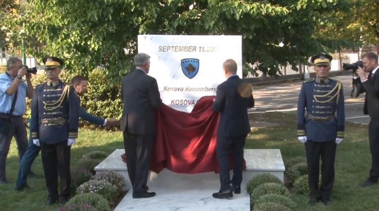 Во Приштина спомен-плоча во чест на жртвите на 11 септември во САД
