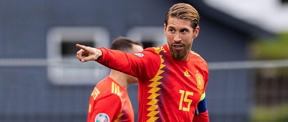 Рамос: Сакам да одиграм 200 натпревари за репрезентацијата на Шпанија