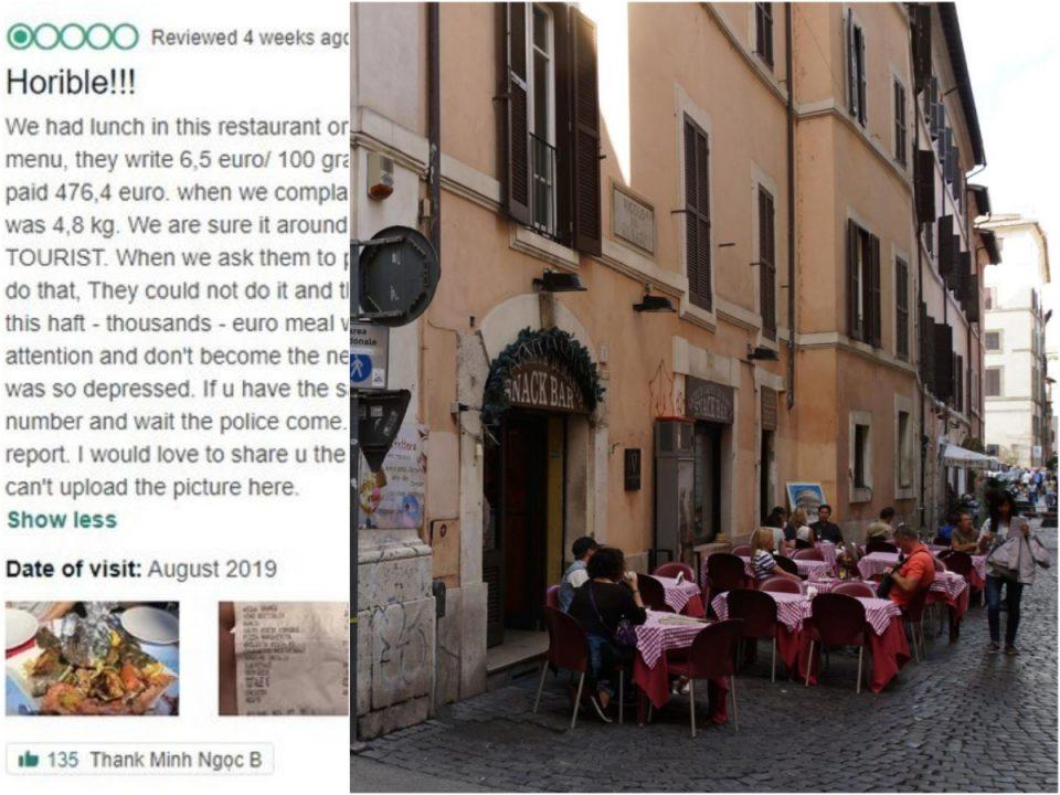 На менито пишувало цена 6,5 евра, а сметката ги запрепастила