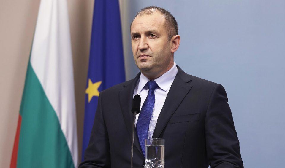Радев: Поддршката за Северна Македонија не е безусловна