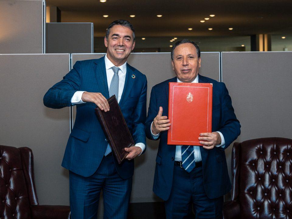 Македонија воспостави дипломатски односи со Тунис и Ерменија