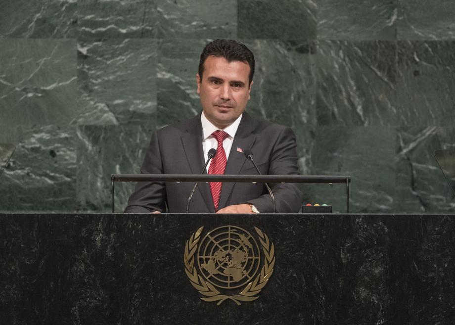 Заев во Њујорк на Генералното собрание на ОН, утре прва средба со Мицотакис