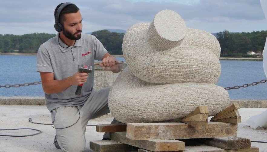 Академскиот скулптор Александар Ефтимовски освои прво место на биенале на скулптура во Шпанија