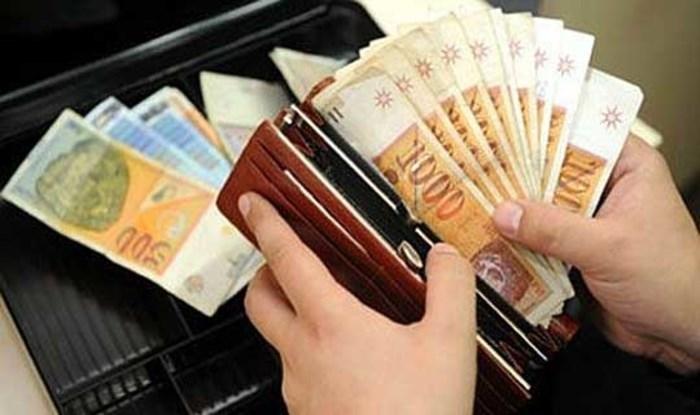 Просечната нето плата во август 25.127 денари