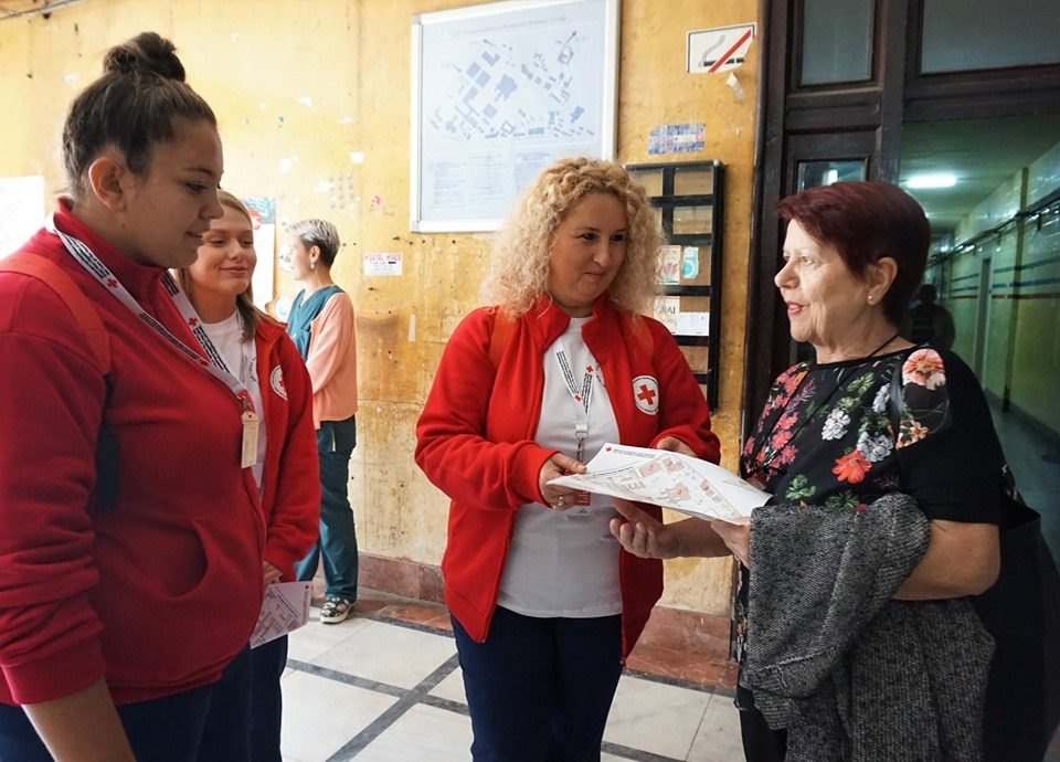 Волонтери на Црвен крст ќе им помагаат на пациентите да се снајдат во Клинички центар