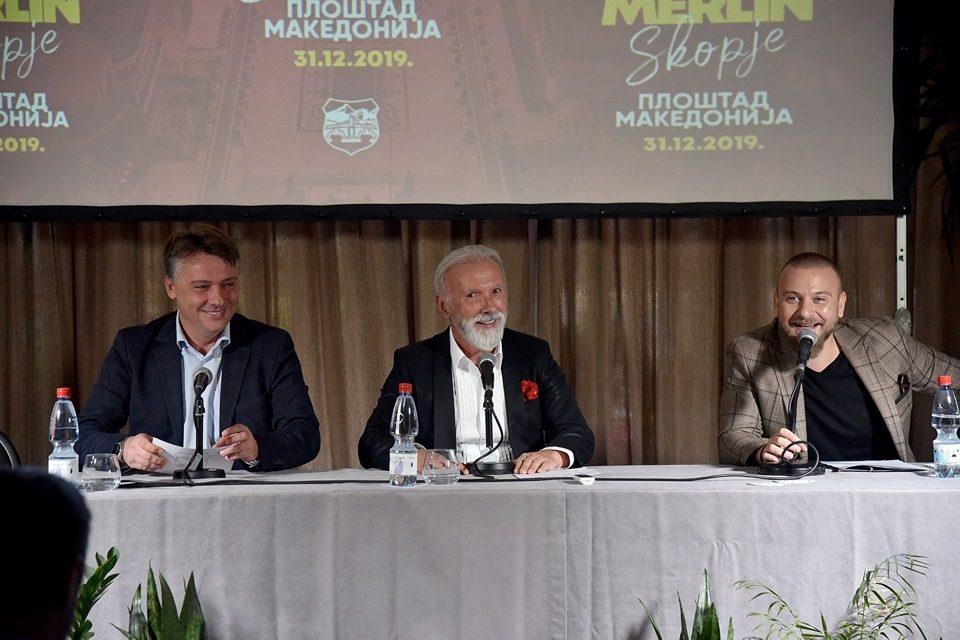 Упорноста на Шилегов била пресудна: Дино Мерлин ќе пее на плоштадот во Скопје за Нова година