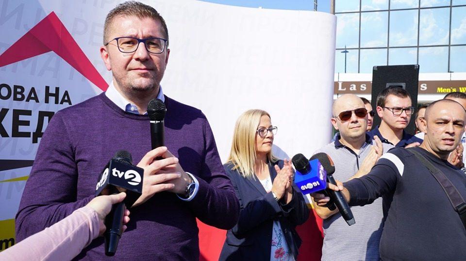 Мицкоски: Треба да формираме техничка влада, технички премиер и да одиме на предвремени парламентарни избори