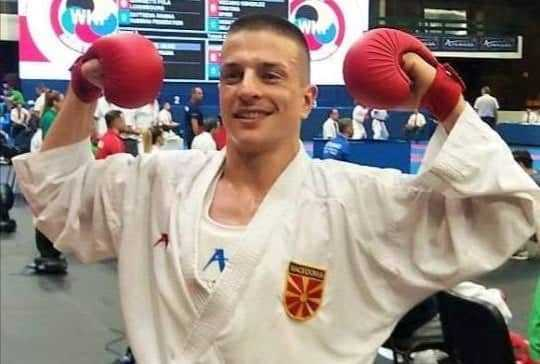 Македонскиот каратист Емил Павлов шампион во Москва