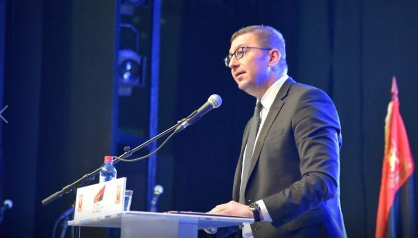 Мицкоски: Заев паѓа зошто тргуваше со Македонија
