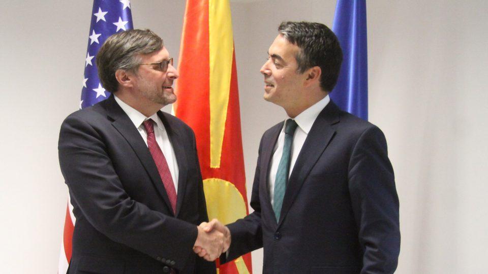 Палмер: Силна поддршка на САД за Македонија и нејзиниот европски пат