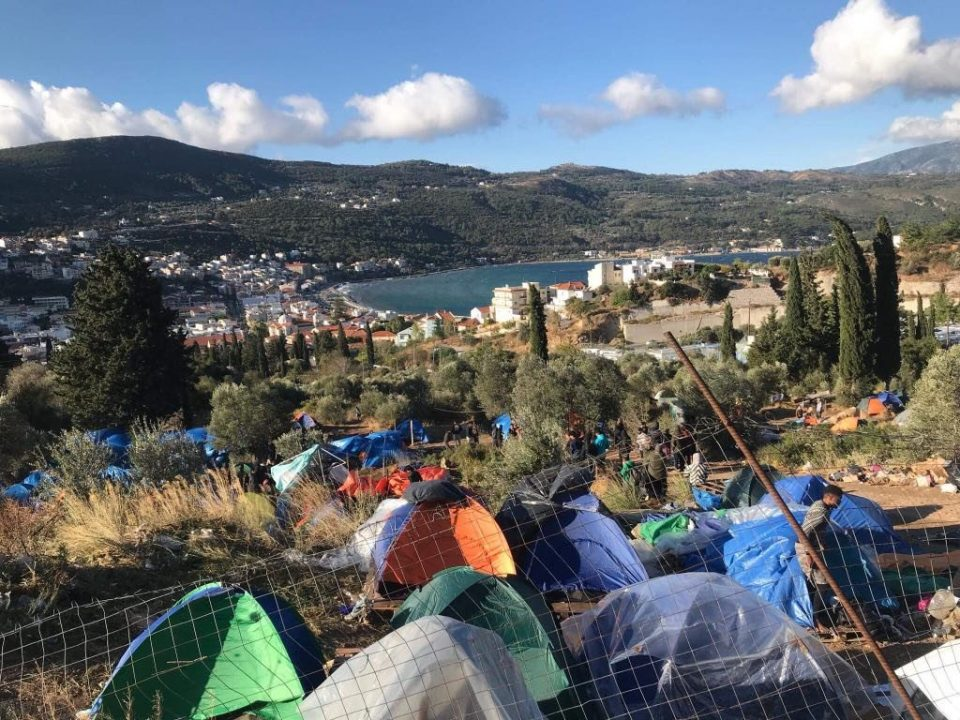 На грчкиот остров Самос ќе се гради нов прифатен центар за бегалци и мигранти