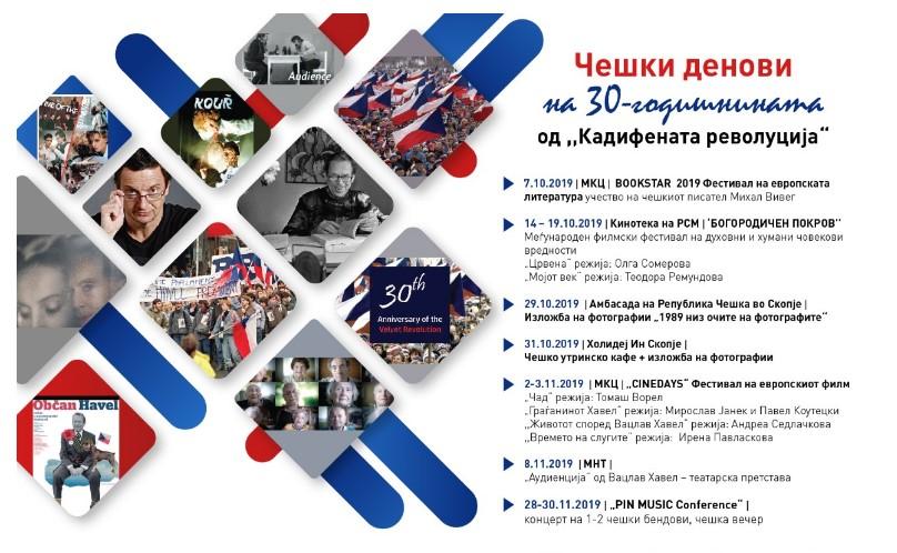 """,,Кадифената револуција"""" ќе се одбележи во Скопје"""