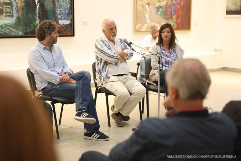 Рубенс Корубин: Во атељето заборавам на се, таму станувам друг човек