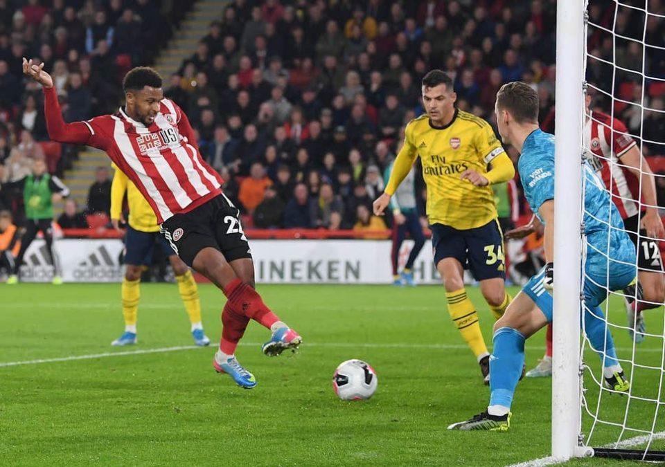 Шефилд јунајтед му го нанесе вториот пораз на Арсенал оваа сезона
