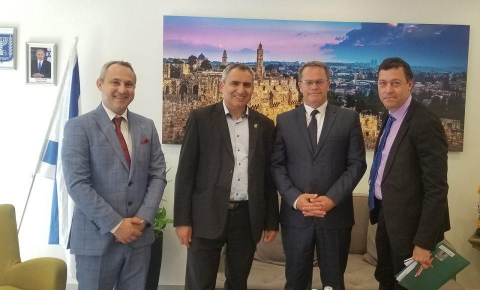 Министерот за култура Исмаили се сретна со министерот за животна средина на Израел и со директорката за култура