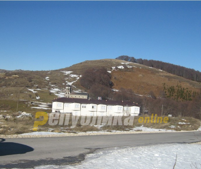 Почна да го гради Тоше Проески: Пожар во близина на манастирот Св.Преображение во Крушево