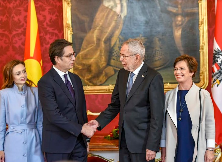 Пендаровски-Ван дер Белен: Почеток на преговорите со ЕУ ќе биде заслужено признание за Македонија