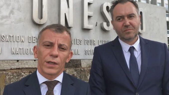 Адеми и Георгиевски во Париз ветија дека Охрид ќе го зачува статусот на УНЕСКО