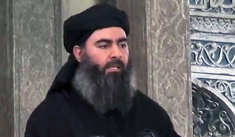 Ал Багдади разоткриен по долната облека