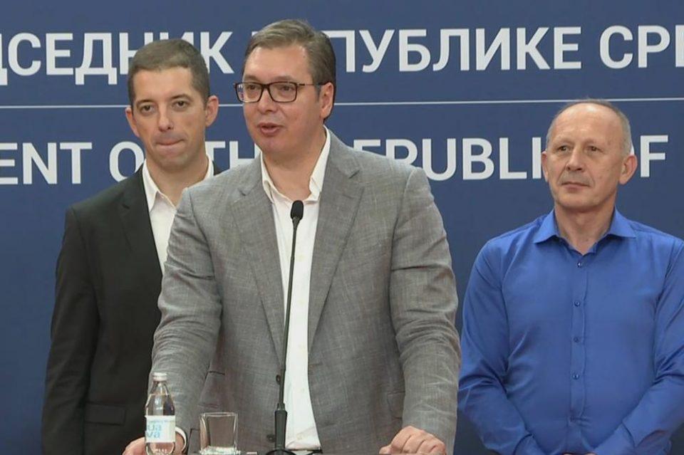 Вучиќ: Триумфот на Српска листа ми е една од најомилените победи