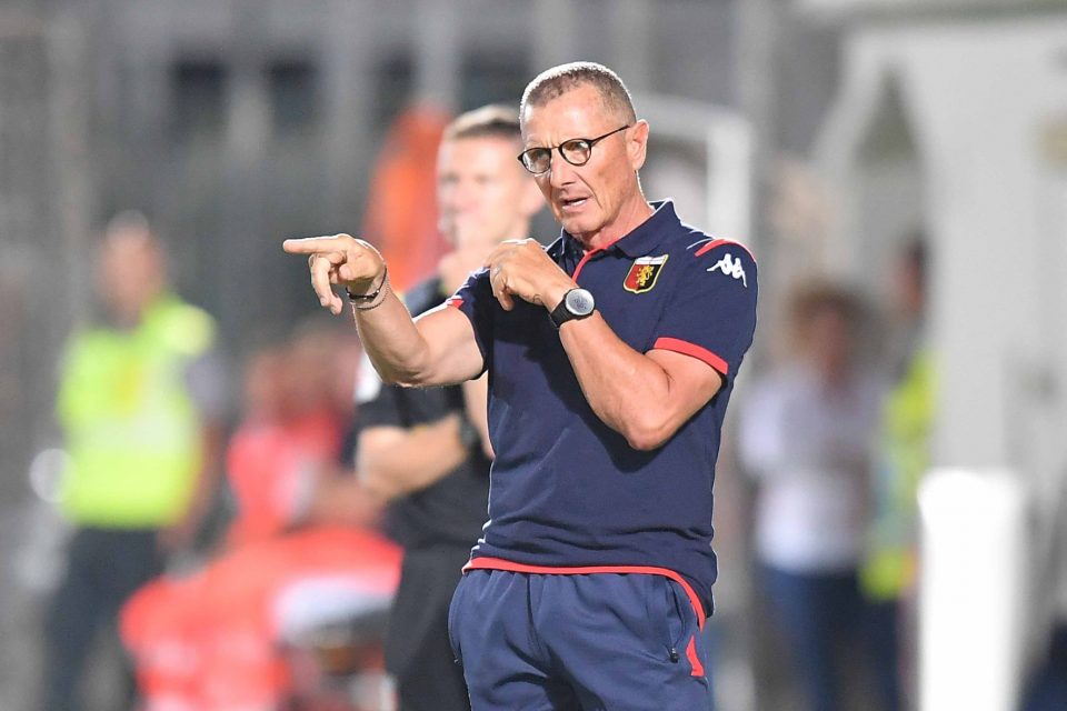 Пандев ќе има нов тренер, Џенова го отпушти Андреацоли