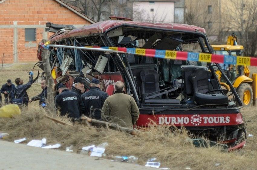 """Сведок од автобусот на """"Дурмо Турс"""": Возачот постојано разговараше на телефон"""