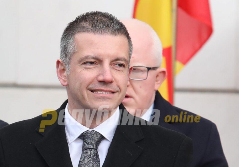 Манчевски: Прво обвинение за Ременски, па потоа соодветна постапка во партијата